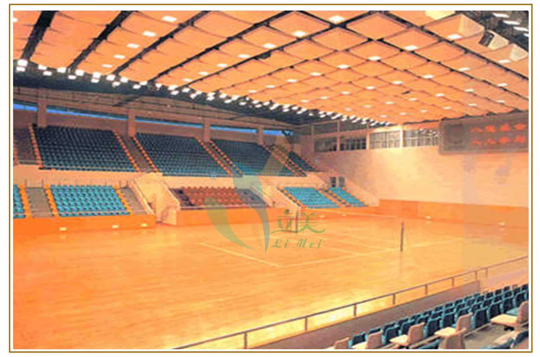 东莞柞木剧院地板铺装