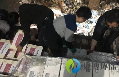 上海進口面粉銷毀
