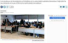 留了个假学?西班牙一大学新闻系中国学生占85%,国学生占85%,多数不懂西语