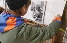 成人美术提高班,成人美术提高班:人物头像素描、人物半身像素描、人体素描