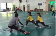 杨浦区羽毛球培训,掌握正手网前移动步法及正手高远球后场移动步法学会反手