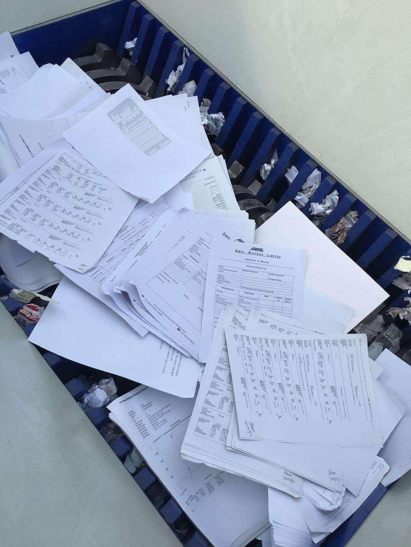 广州越秀区文件销毁处理公司