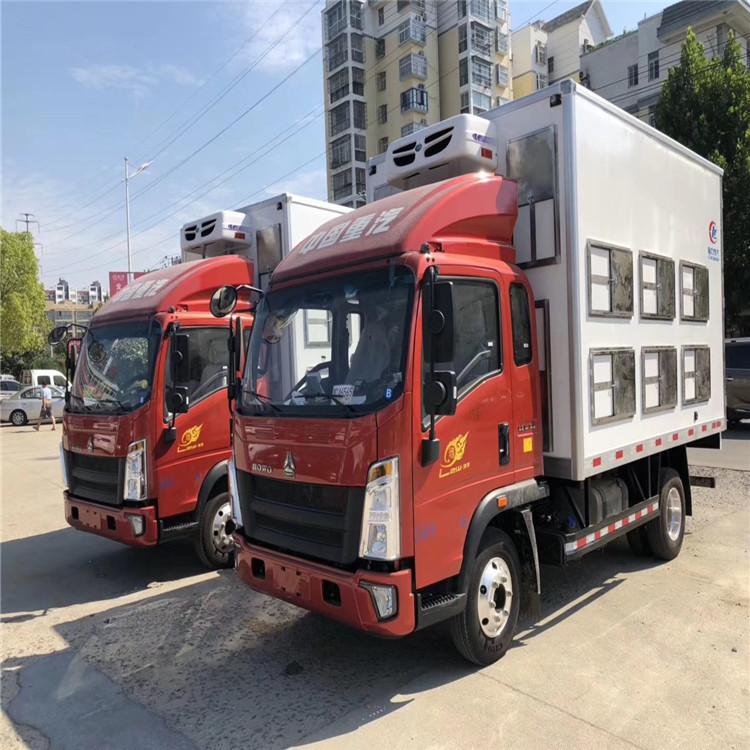 生禽物流恒温种猪苗运输车卸货自检新规拉猪车