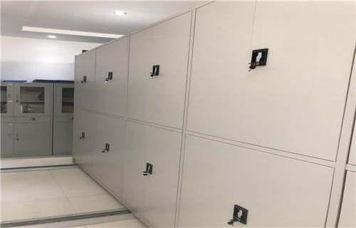 涞水档案室活动密集柜用手摇动的密集柜