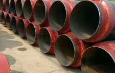 甘肃庆阳热力管网聚氨酯发泡小区供热保温直缝管选购
