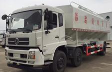 厂家定制33吨的散装饲运输车图