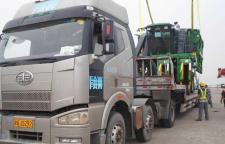 惠州到宁夏物流专线大件设备机器运输公司