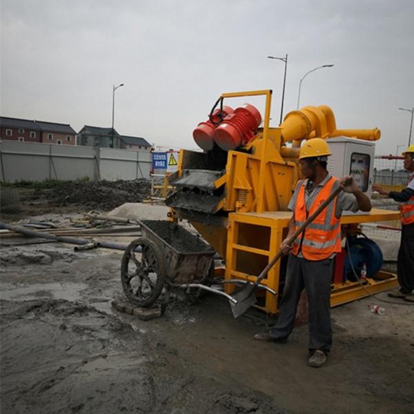 广东汕头城市污泥处理重复利用机器