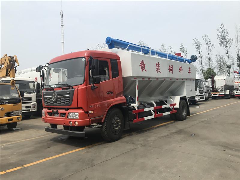 【优质服务】东风9吨猪饲料车规格型号