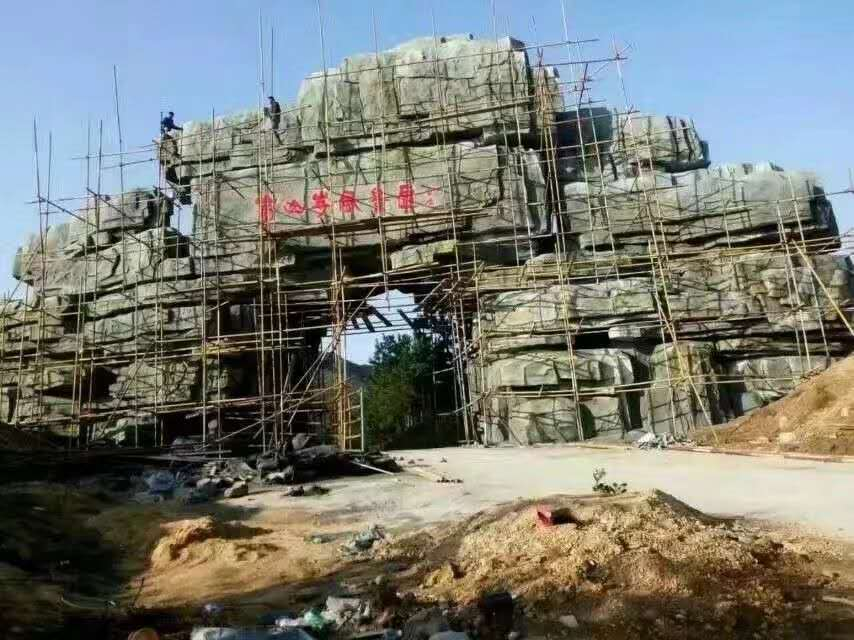 西安仿木栏杆批发厂家