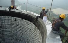 桂林平乐---人工拆除---咨询热线,11q1主要承揽:烟囱裂缝倾斜维修,烟囱维