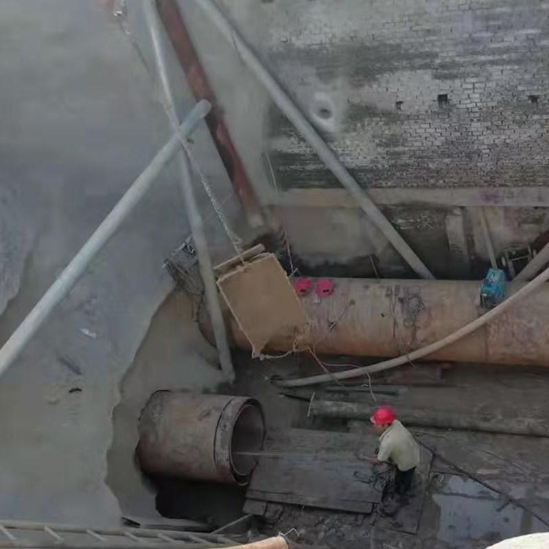 浔阳1000混凝土管顶管施工图