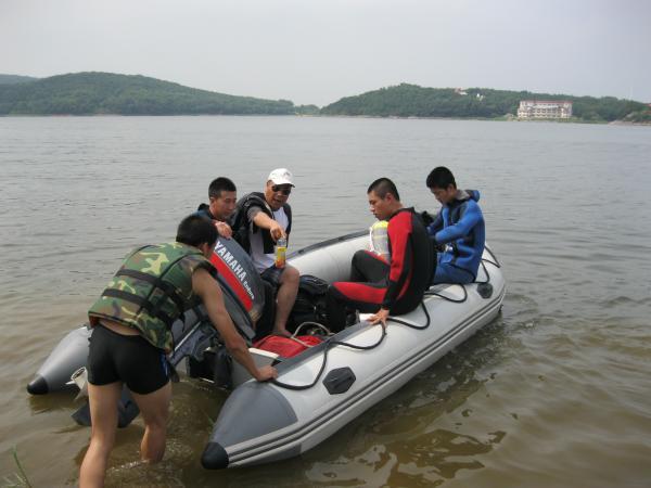 扬中市打捞队——(技术高超)