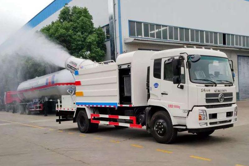 解放18吨多功能降尘车价格多少钱