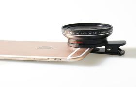 LQ-027  0.45x 广角+微距二合一  新品大镜头  高端奢华新品上市
