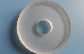 廠家供應帶孔的平凹反射鏡   凹面反射鏡