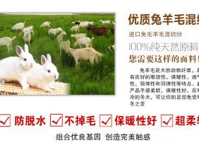 奕鑫【秋冬混纺纱】1/16NM安哥拉 高比例兔毛 轻盈柔软 可检测