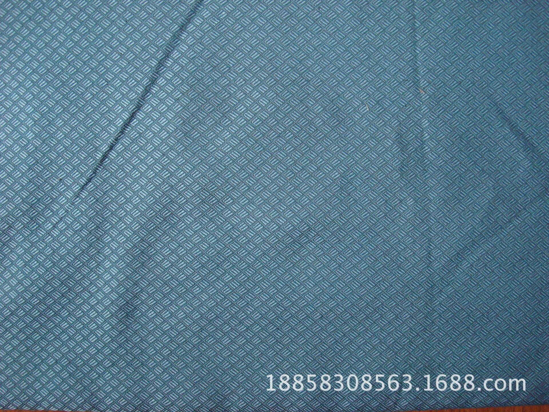 8023斜纹小格子防火布-1