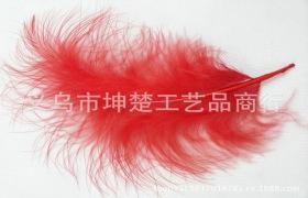 批发天然火鸡羽毛 火鸡毛 多彩全绒羽毛 有现货 颜色自选