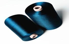 粘胶纱线人造纤维染色纱250d/50f人造丝单丝色纱