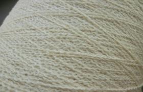 棉腈包覆纱 HBW052 波形纱 6.5支胚纱 针织纱 波纹纱  厂家直销