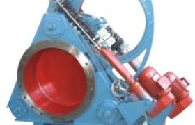 供應F743X-2.5型液動盲板閥