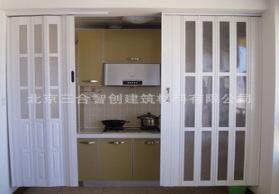 厂家供应:北京折叠门、商铺折叠门、塑料折叠门