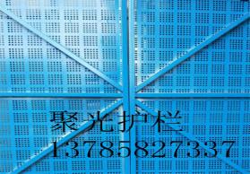 爬架网 建筑爬架网 实体 爬架防护网