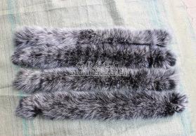 批发 内销型 蓝狐白狐银狐等 狐狸尾巴帽条 毛条