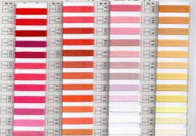 21s 普梳 高配优质合股纱 彩色全棉纱 环保筒纱染色 色织机专用