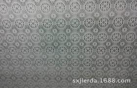 吉尔达厂家直销 时尚圆点涤棉窗帘面料 田园精编蕾丝窗纱