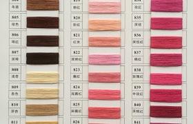 廠家直銷24/2啞光雙曲紗線有色曲珠冰麻質量穩定高品質紗線