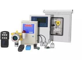 固定式带液晶显示的可燃气体浓度检测报警器