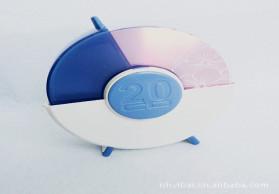 厂家直销R100大容量精美装60片的 塑料CD盒