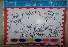 水彩画批发,儿童水彩画