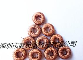 工 厂直销磁环电感050-125  3A插件电感 磁环电感 大功率电感