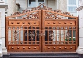 高端别墅庭院大门 高端铸铝别墅庭院门 RJ-M006