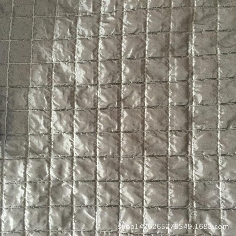 尼丝纺细格子3