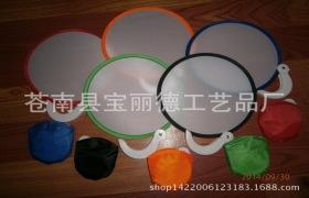 热销清凉小折扇,折叠尼龙扇,环保布艺彩扇,