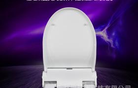 丹洁智能马桶盖板 自动换套走纸 加热缓降座便器盖板 厕所板