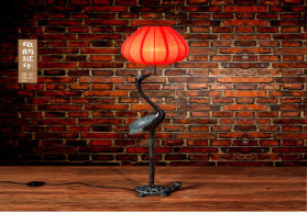 简约现代中式圆形布艺美式创意客厅大厅餐厅卧室地中海灯落地灯