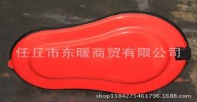 塑料带盖子防臭用临时蹲便器,一次性蹲坑