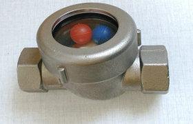 厂家生产不锈钢浮球视镜、叶轮直通视镜