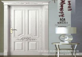 厂家木门批发定制室内套装门 实木复合烤漆门 原木门 钢木门