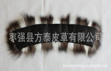 廠家供應 狐貍毛領 毛領批發 訂做