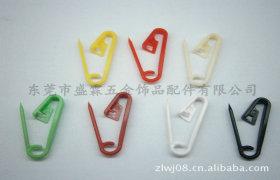厂家供应塑胶彩色扣针珠针大头针