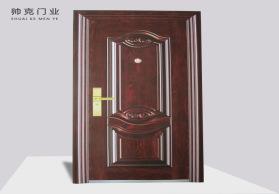 厂家直销质量保证 中式简约风格隔音标准门转印安全防盗进户门