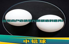 XG65 75含量优质中铝球 低磨耗耐高温中铝球
