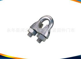 紧固件厂家生产销售 索具 钢丝绳卡头 卸扣吊环 保证质量