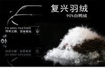 復興羽絨 國標90%水洗白鴨絨 填充物批發  廠家直銷羽絨批發